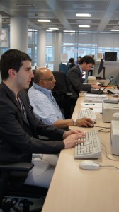 True Volunteers working at TVF's HQ